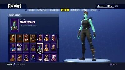 Ghoul Trooper And Renegade Raider Account (READ DESCRIPTION Before Buying!)