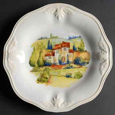 Lenox BUTLER'S PANTRY Tuscan Village Accent Luncheon Plate 9549382