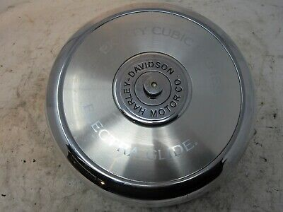 1995 Harley Davidson Electra Glide FLHT Air Box Filter W/ Chrome Cover ASMBLY B8