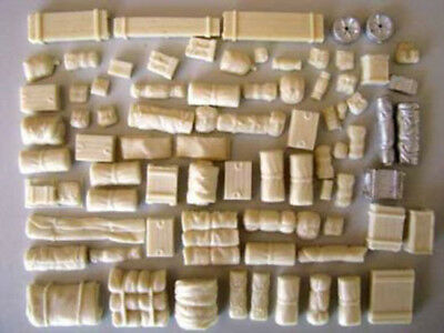 W.W.II TANK ACCESSORIES VEHICLE STOWAGE 28mm WWII Bolt Action Frontline Games