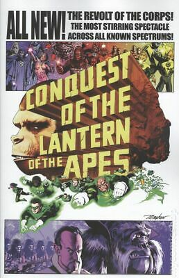 Planet of the Apes Green Lantern #4B 2017 NM Stock Image