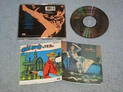 David Bowie The Man Who Sold The World deleted CD EMI 1990 remaster bonus tracks