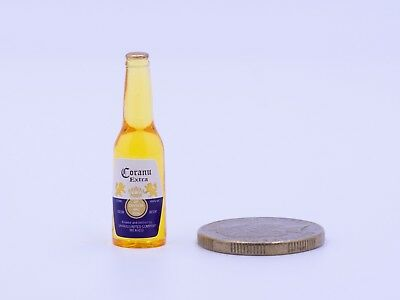 Dollhouse Miniature Kitchen / Grocery / Drink - Corona Beer Bottle 3.8cm