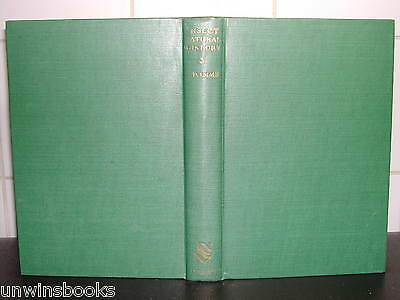 NEW NATURALIST Insects INSECT Natural History 1947 HB 1st Ed ENTOMOLOGY A D Imms