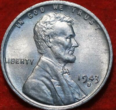 Uncirculated 1943-S San Francisco Mint Steel Lincoln Wheat Cent