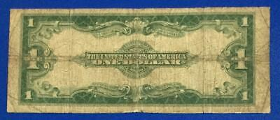 """1923 $1 Blue """"LARGE SIZE"""" SILVER Certificate """"HORSEBLANKET"""" x659 Currency! Rough"""