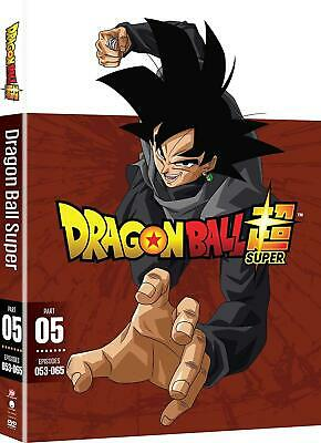 DRAGON BALL SUPER : PART FIVE 5  - DVD - Region 1 NEW FREE SHIPPING