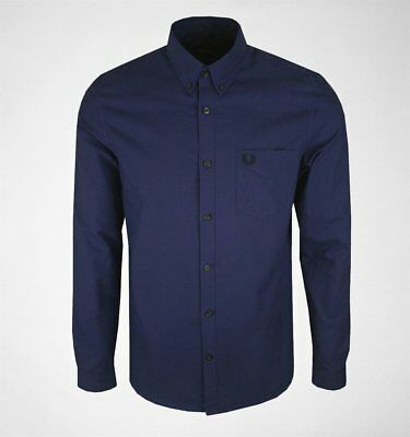 Fred Perry M3551 Classic Oxford Shirt Victoria Blue