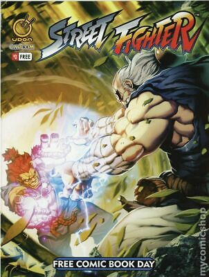 Street Fighter (Udon Comics) Free Comic Book Day #0 2014 VF Stock Image