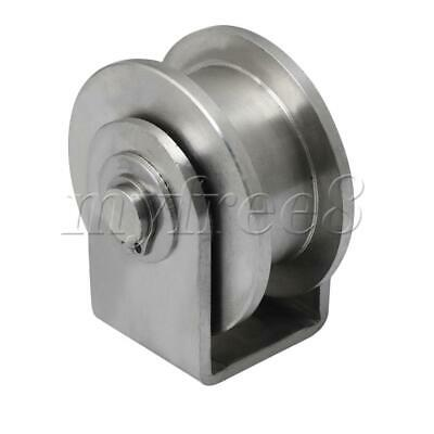 S Size H Type Rail Roller Stainless Steel H-Shaped Rail Track Fixed Pulley