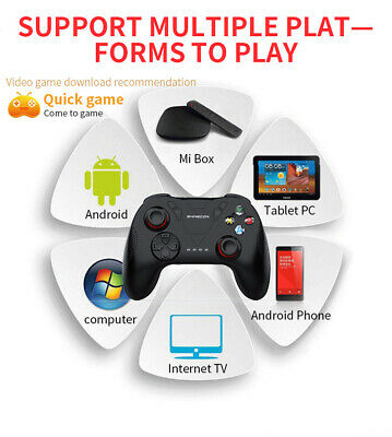 B04A Wireless Bluetooth Gamepad Remote Game Controller Joystick For PUBG Mobile