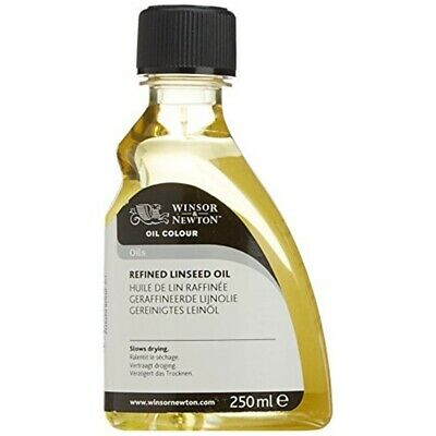Winsor & Newton 250ml Refined Linseed Oil - Colour