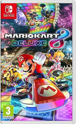 Super Mario Kart 8 Deluxe  NINTENDO SWITCH