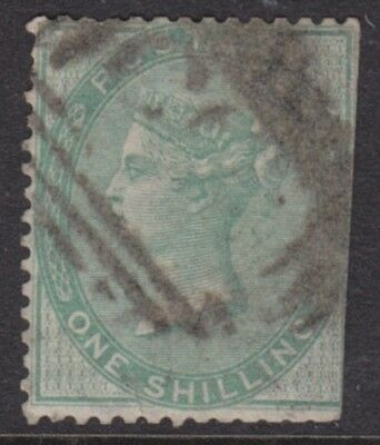 1855/7 Queen Victoria 1/- Green Sg72 Used