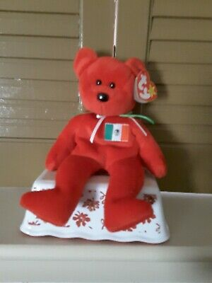 ty beanie baby Osito the cute Mexican beanie. Great condition and hang tag  1999. c7308639d1b