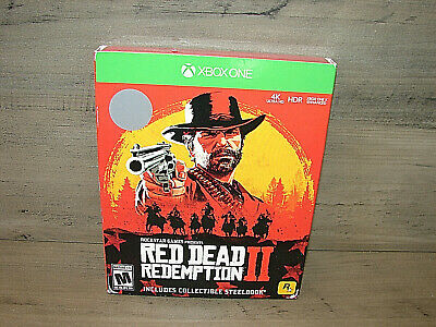 XBOX ONE Red Dead Redemption 2 Steelbook Edition Collection BRAND NEW SEALED