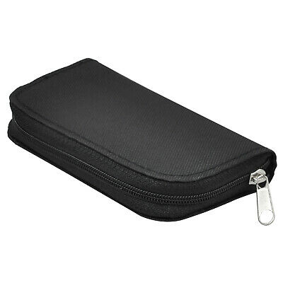 Black Memory Card Holder for SD CF Mini and Micro SD and MS Pro - By TRIXES