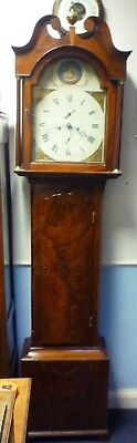 Very Nice Antique Longcase Clock By Stewart Avchtarede In Full Working Order