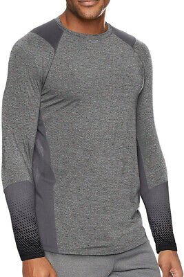 Under Armour MK1 Graphic Long Sleeve Mens Training Top - Grey