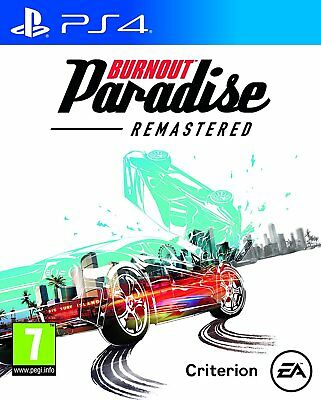 Burnout Paradise Remastered    playstation 4  PS4   NUOVO