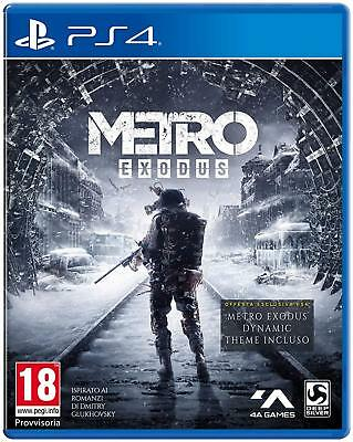 Metro Exodus Day One Edition   PS4  ITA