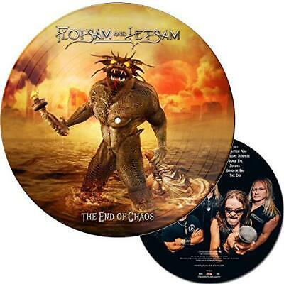 The End Of Chaos (Picture Disk) [VINYL], Flotsam And Jetsam CD , New, FREE & Fas