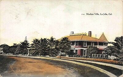 Postcard Moulton Villa in La Jolla, California~120956