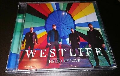 Westlife - Hello My Love - Limited Cd Single + Poster (Ed Sheeran)
