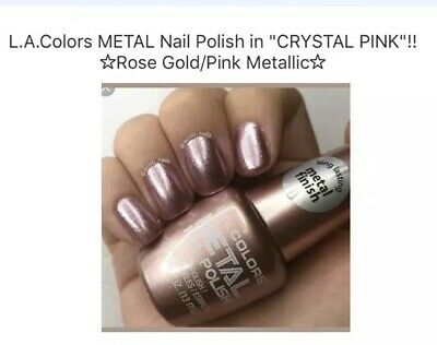 L.A.COLORS METAL NAIL Polish in \