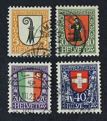 CKStamps: Switzerland Stamps Collection Scott#B25-B28 Used
