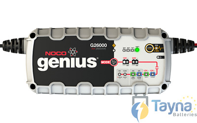 NOCO G26000 26A Fully Intelligent 10 Step Genius Charger