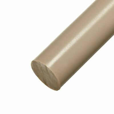 PEEK 1000 Round Rod, Diameter: 1.500 (1-1/2 inch), Length: 6 inches (Natural)