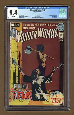 Wonder Woman (1st Series DC) #199 1972 CGC 9.4 1296319003