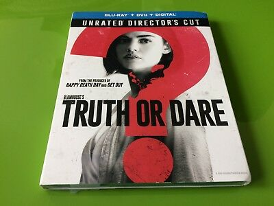 Truth Or Dare (Blu-Ray+Dvd+Digital) ~ New Unrated Directors Cut