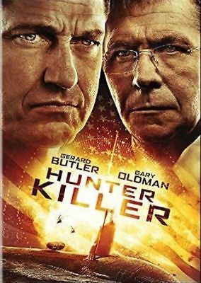 Hunter Killer (DVD 2018 New Release)Action//Thriller- Actor Gerard Butler