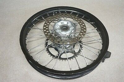 Honda CRF450R CRF450 CRF 450 450R Black Rear Wheel Rim Hub Sprocket Rotor