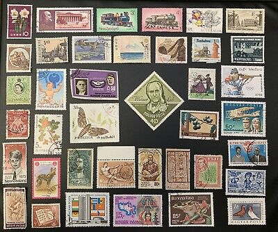 [Lot 153] 200 Different Deluxe Worldwide Stamp Collection (All Stamps Shown)