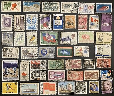 [Lot 158] 200 Different Deluxe Worldwide Stamp Collection (All Stamps Shown)