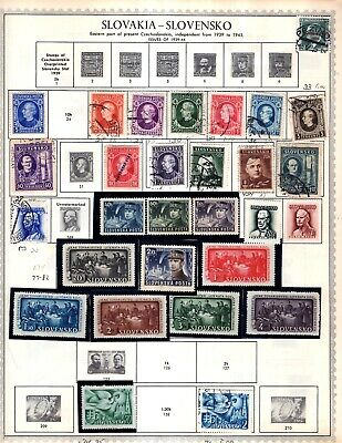 Slovakia  From Huge 26 Vol Collection