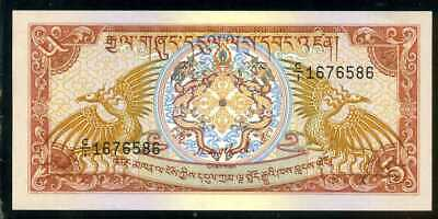 BHUTAN  -  5 NGULTRUM  1985     -  P 14a  Uncirculated Banknotes
