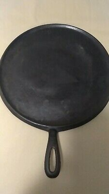 Griswold cast iron griddle #10 large Erie,Pa