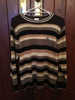 Vintage Jumper By Lacoste Made In Hong Kong Size 5