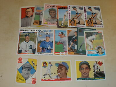Lot Of (15) 2019 Topps Series 1 Iconic Card Reprints Inserts All Different Stars