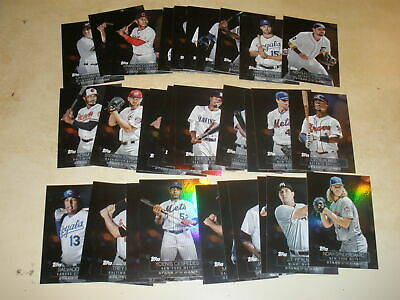 LOT OF (37) 2019 TOPPS SERIES 1 STARS OF THE GAME ALL DIFFERENT w/ STARS & RC