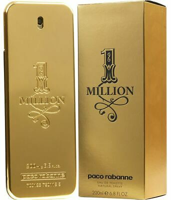 One 1 Million by Paco Rabanne EDT for Men 3.4oz - NEW IN SEALED BOX - Free Ship