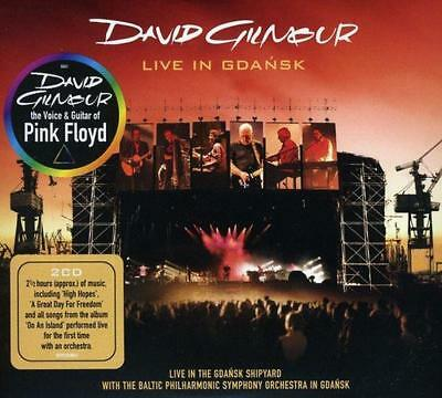 Live In Gdansk (2CD), David Gilmour, New,  Audio CD, FREE & Fast Delivery