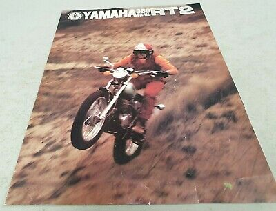 1970s YAMAHA  360 TRAIL RT2  Original Sales Brochure