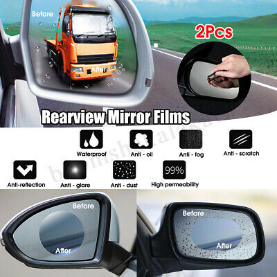 Xiaomi 2 Car Rearview Blind Spot Wide Angle Adjustable Rimless Mirror Rear View
