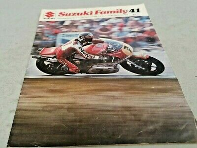 1976 SUZUKI FAMILY 41 Dealer Magazine Cars & Motorcycles 4WD - Very Rare