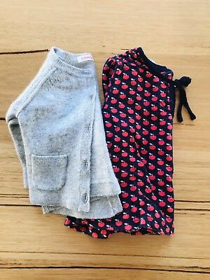 Country Road Baby Girl Top And Cardigan Size 000